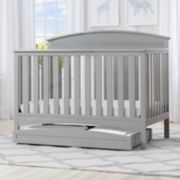 Delta Children Abby 4-in-1 Convertible Crib