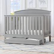 Delta Children Abby 4-in-1 Convertible Crib