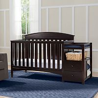Delta Children Abby Convertible Crib N Changer