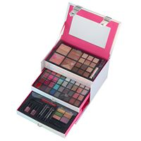 The Color Institute 66-pc. Silver Case Defining Beauty Cosmetics Set