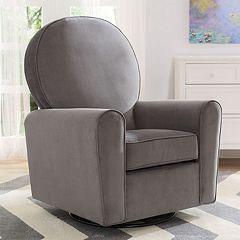Delta Children Barcelona Nursery Glider Swivel Rocker Chair