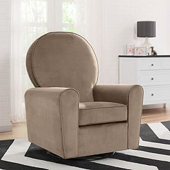 Delta Children Barcelona Nursery Glider Swivel Rocker Chair
