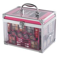 The Color Institute 40-pc. Train Case Cosmetics Set