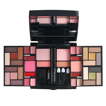 The Color Institute 43-pc. Beauty Balance Black Cosmetics Set