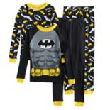 Boys 4-10 DC Comics Batman 4-Piece Pajama Set