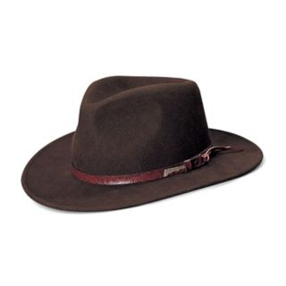 Men's Indiana Jones All-Season Wool Felt Outback Hat