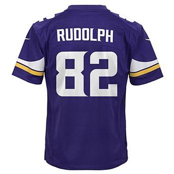 newest 980e7 1699f Boys 8-20 Nike Minnesota Vikings Kyle Rudolph Game NFL ...