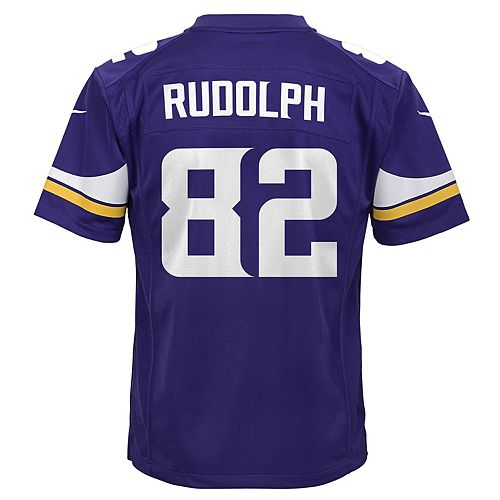 newest 7dd95 1812e Boys 8-20 Nike Minnesota Vikings Kyle Rudolph Game NFL ...