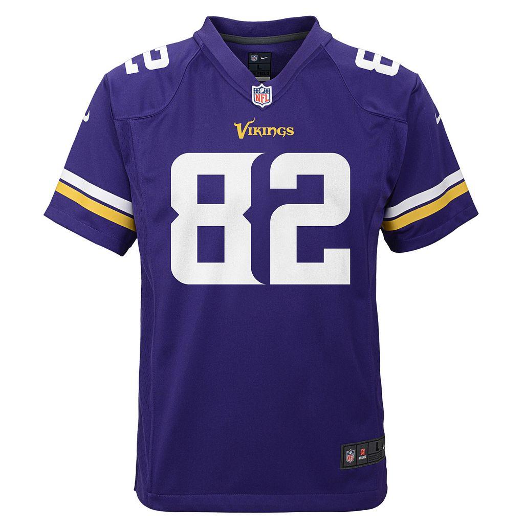 Boys 8-20 Nike Minnesota Vikings Kyle Rudolph Game NFL Replica Jersey