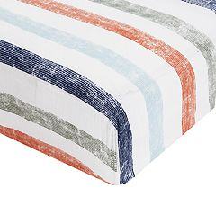 aden by aden + anais Patterned Fitted Crib Sheet