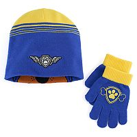 Boys Paw Patrol Hat & Gloves Set