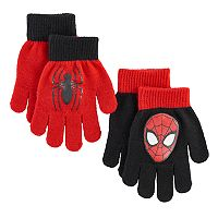 Boys Marvel Spider-Man 2-Pack Gloves