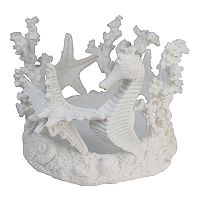 SONOMA Goods for Life™ Artificial Coral & Seahorse Candle Jar Holder