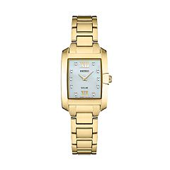 Seiko Women's Core Diamond Stainless Steel Watch