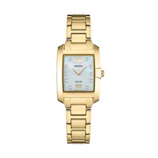 Seiko Women's Core Diamond Stainless Steel Watch