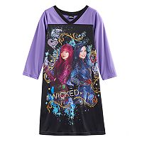 Disney's Descendants Mal & Evie Girls 4-10 Graphic Nightgown