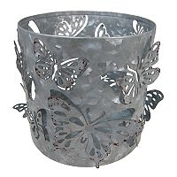 SONOMA Goods for Life™ Galvanized Butterfly Candle Jar Holder