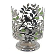SONOMA Goods for Life™ Birds & Leaves Pedestal Candle Jar Holder