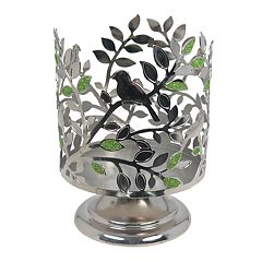SONOMA Goods for Life™ Birds & Leaves Pedestal Candle Jar Holder