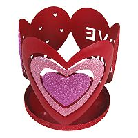 SONOMA Goods for Life™ Valentine's Day Heart Candle Jar Holder