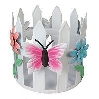 SONOMA Goods for Life™ Butterfly & Flower Candle Jar Holder