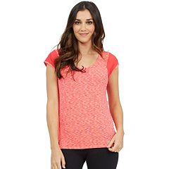 Women's Marika Upper Cut Short Sleeve Tee