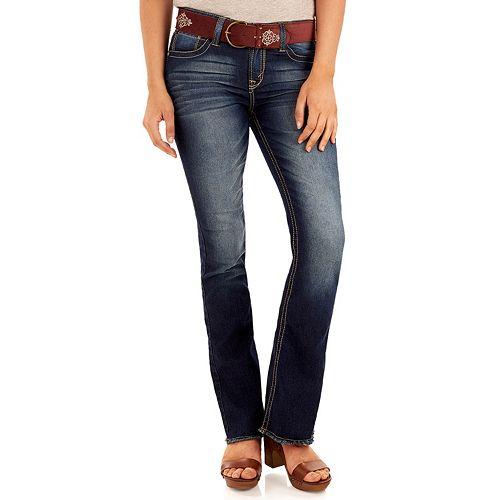 Juniors' Wallflower Legendary Bootcut Jeans