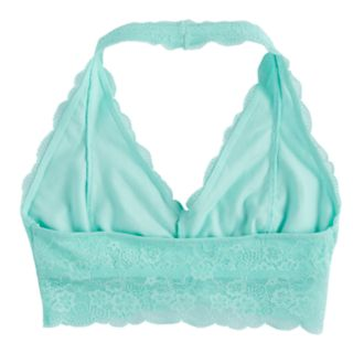 Girls 7-16 Maidenform Lace Halter Bralette