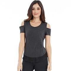 Women's Balance Collection Ember Cold-Shoulder Tee