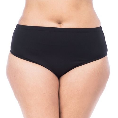 Plus Size Chaps High-Waisted Scoop Bottoms