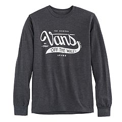 Boys' 8-20 Vans 'Off The Wall' Logo Tee