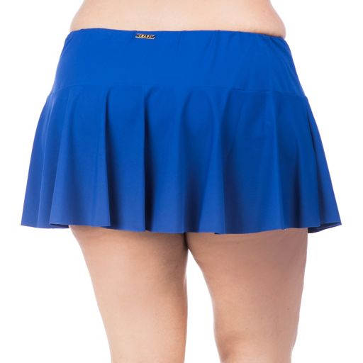Plus Size Chaps Hip Minimizer Ruffled Skirtini Bottoms