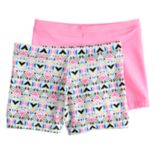 Girls 4-16 Maidenform 2-pk. Playground Pals Minishorts