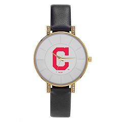 Women's Sparo Cleveland Indians Lunar Watch