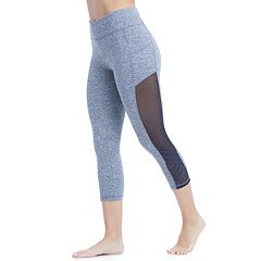 Women's Balance Collection Ivy Mesh Panel Capri Leggings