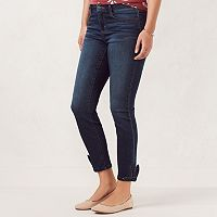 Women's LC Lauren Conrad Ankle-Tie Jeggings