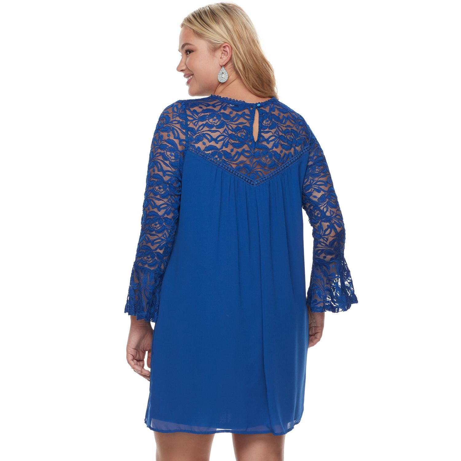 Lily Rose Kohls Kate Embroidery Blouse In Blue Beatrice Clothing
