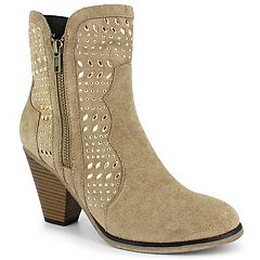 Dolce by Mojo Moxy Fenni Women's High Heel Ankle Boots