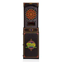 Unicorn Arachnid Arcade Standup Cabinet with Cricket Pro 650 Dartboard & Darts Set