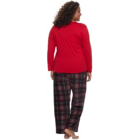 Plus Size Be Yourself 2-pc. Fleece Pajama Set