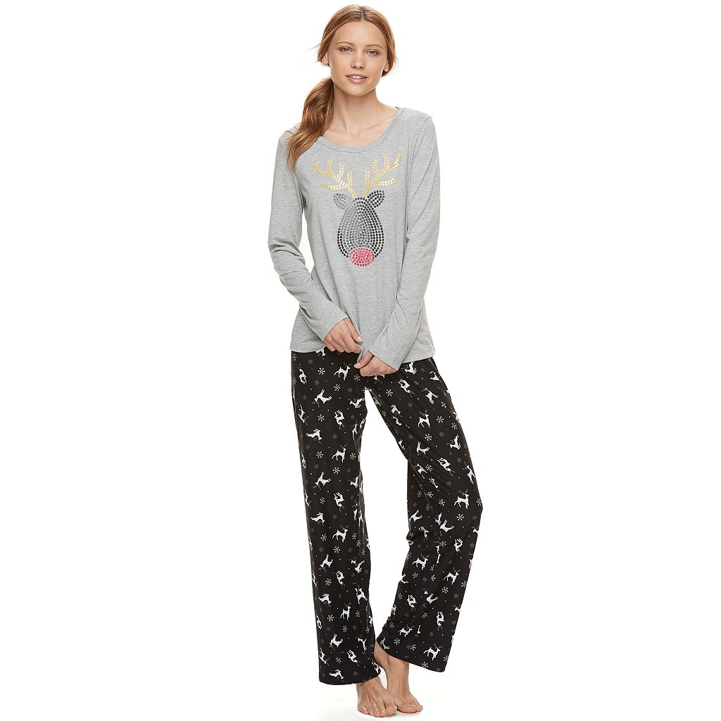 Women's Be Yourself Print Sleep Set