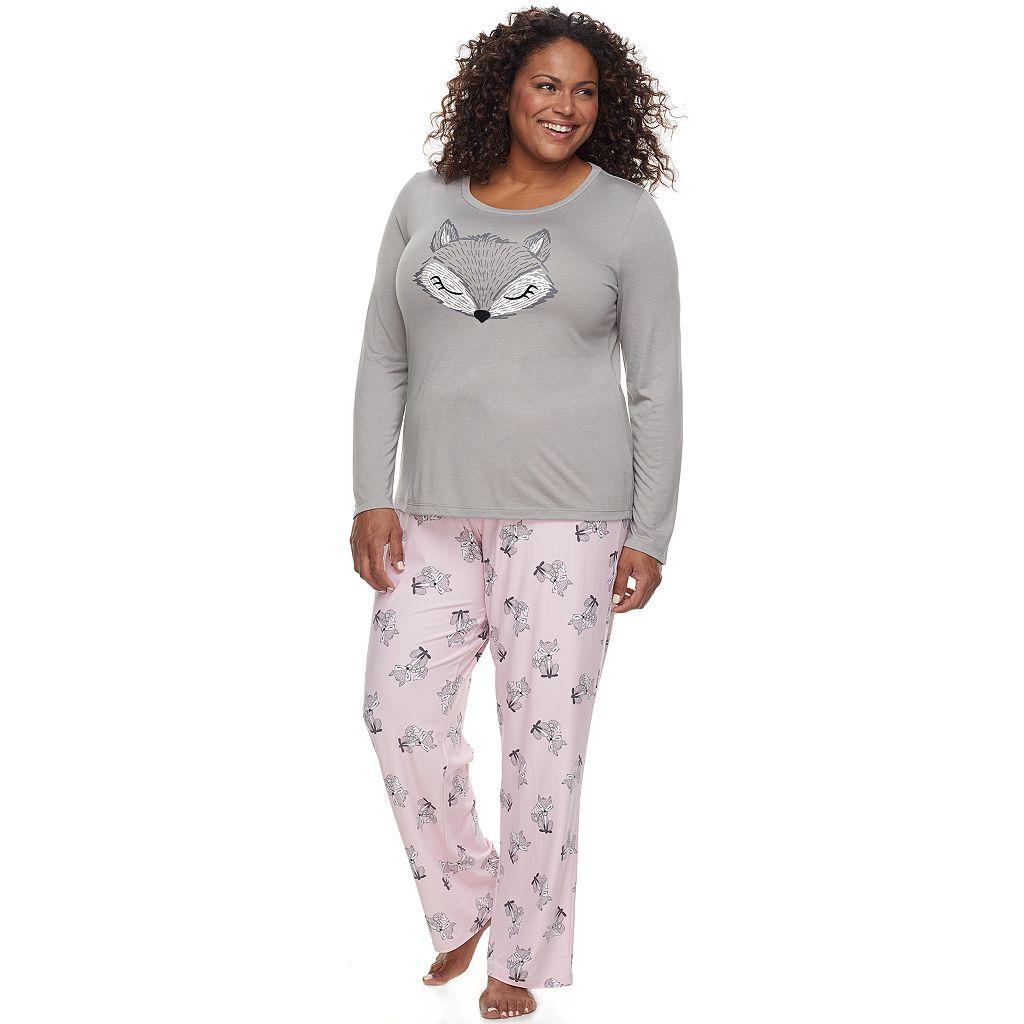 Plus Size Be Yourself 2-pc. Pajama Set