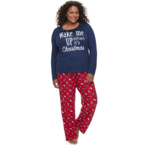 Plus Size Be Yourself 2-pc. Pajama Set