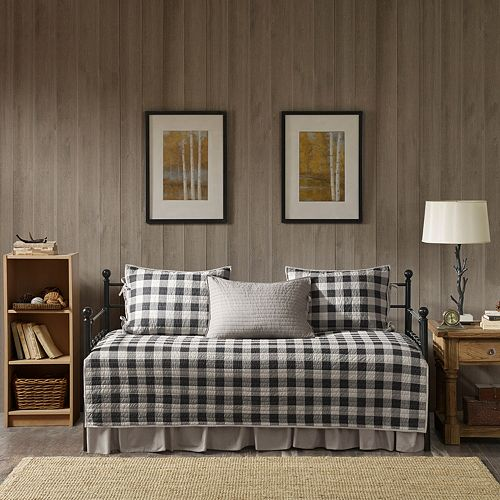 Woolrich Buffalo Check 5-piece Daybed Coverlet Set