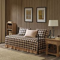 Woolrich Buffalo Check 5 pc Daybed Coverlet Set
