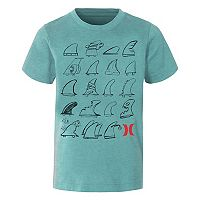 Boys 4-7 Hurley Choose Your Fin Graphic Tee