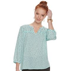 Women's ELLE™ Peasant Top