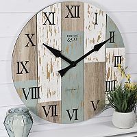 FirsTime Rustic Shabby Chic Wall Clock