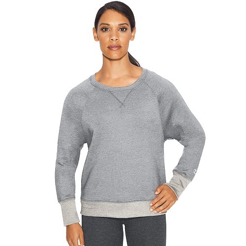 Women's Champion Crewneck Fleece Sweatshirt