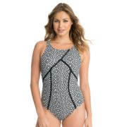 Women's Upstream Geometric One-Piece Swimsuit